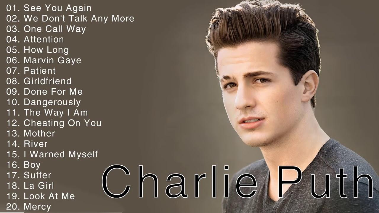 Download Charlie Puth Hits full album 2021 - Charlie Puth Best of playlist 2021 - Best Song Of Charlie Puth