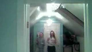 me and kelly dancing :)