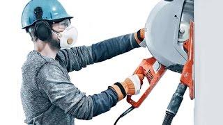 Штроба - штробление стен под укладку труб(Криворожская строительная компания Демонтаж-Строй предлагает свои услуги в проведении таких непростых..., 2015-08-28T15:24:43.000Z)