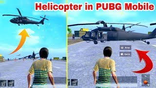 PUBG Mobile New Secret Helicopter | Nobody Knows Trick Secret | 0.14 PUBG Mobile Update