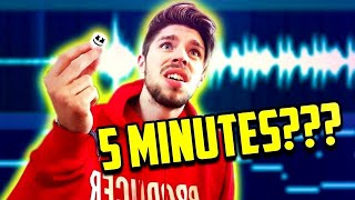 MARSHMELLO BEAT IN 5 MINUTES CHALLENGE [WARNING: LIT]