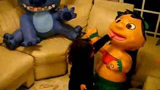 lilo y stich en piñata