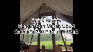 Gambar cover AIRBNB UBUD BALI MURAH CUMA Rp350 RIBU | SEGITIGA HAUS AIRBNB