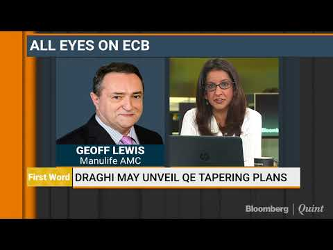 Draghi May Unveil QE Tapering Plans