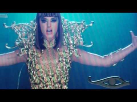 Katy Perry Dark Horse Yahoo Music says best video ever to brainwash kids&worship Satan
