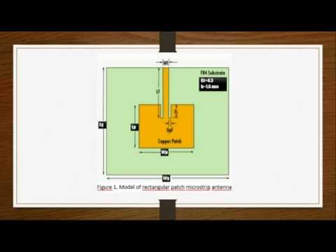 Design of Rectangular Microstrip Patch Antenna Part 1 (MATLAB Calculation)