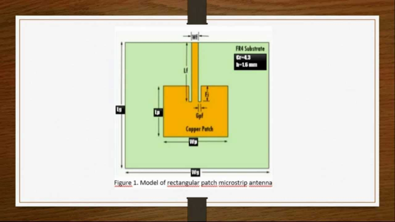 design of a rectangular patch antenna 48 high frequency electronics high frequency design patch antennas the fundamentals of patch antenna design and performance by.