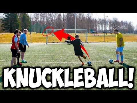 154 KNUCKLEBALL CHALLENGE!!