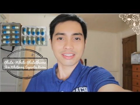 Gluta-White Glutathione Skin Whitening Capsule Review