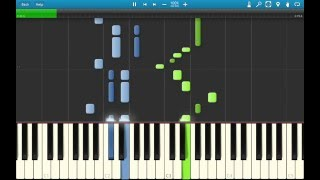 Paramore - Fences | Piano Synthesia