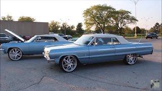 "Veltboy314 - LS Swapped 1964 Impala SS On 24"" Forgiato Wheels - Naptown Circle City Classic 2016"
