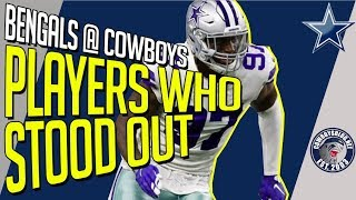 Players That Stood Out, The Good and The Bad | Cowboys vs Bengals Postgame