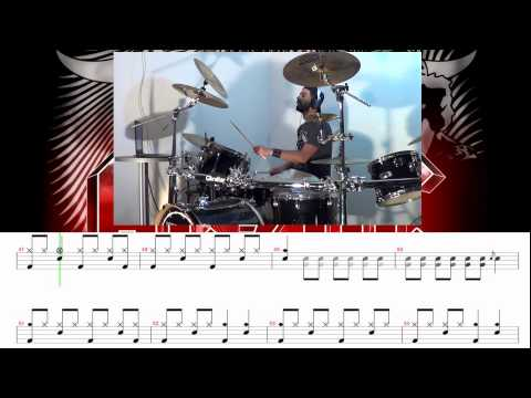 ACDC  Highway To Hell  Drum  with Transcription