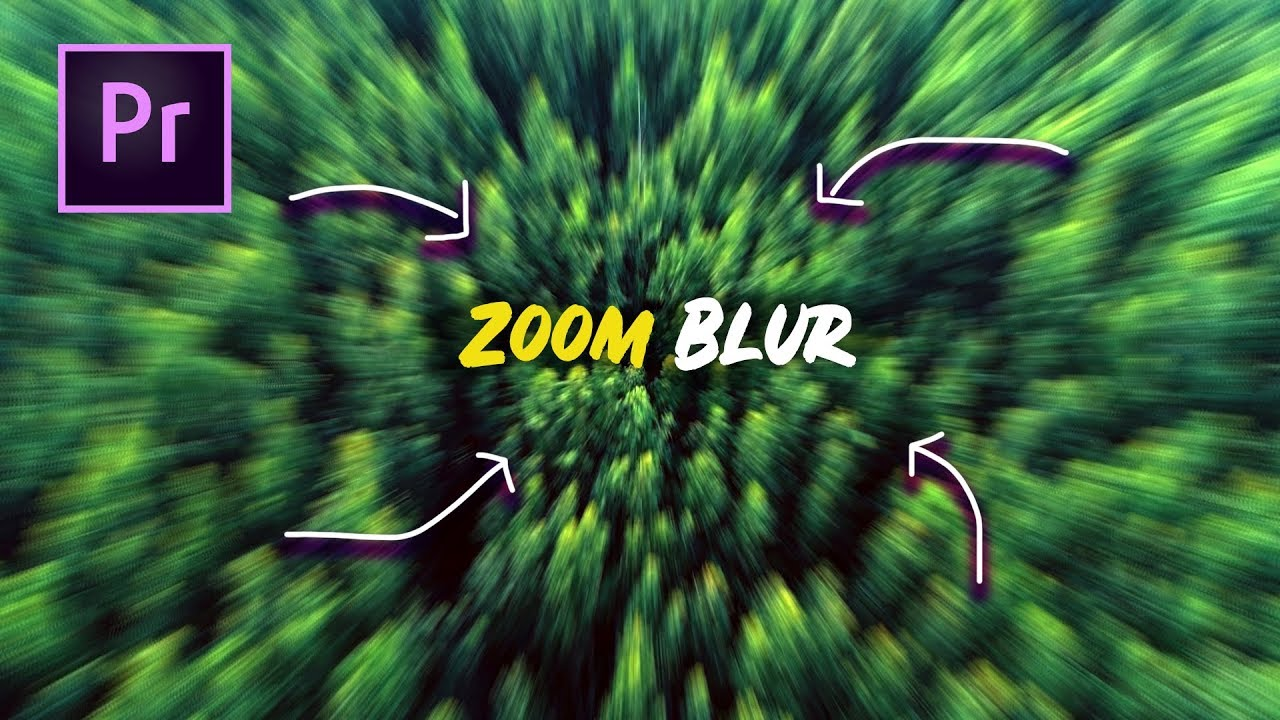 How to Create a Fast Zoom Blur Transition in Adobe Premiere Pro