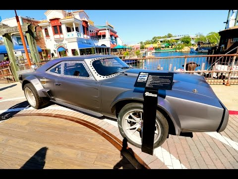 The Fate Of The Furious Arrives At Universal Orlando | Now, With More I 4 Traffic & A Surprise!!