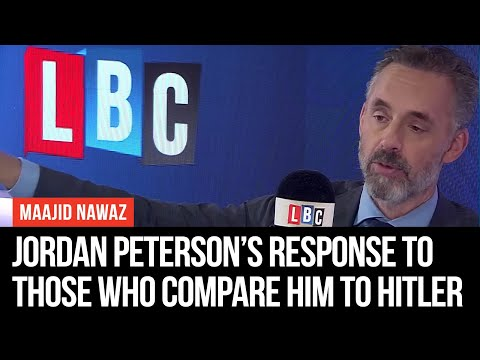 Jordan Peterson's Savage Response To Those Who Compare Him To Hitler