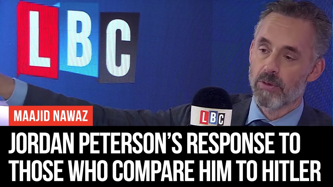 new concept 51b44 349cb Jordan Peterson s Savage Response To Those Who Compare Him To Hitler - LBC