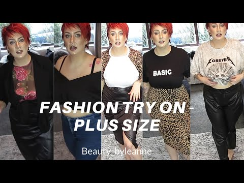 Plus Size Fashion Try On - BooHoo, Primark & In The Style