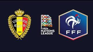 Бельгия Франция прогноз 7 октября полуфинал Лиги Наций