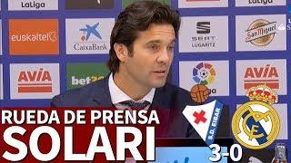 Eibar 3-0 Real Madrid | Rueda de prensa de Solari | Diario AS