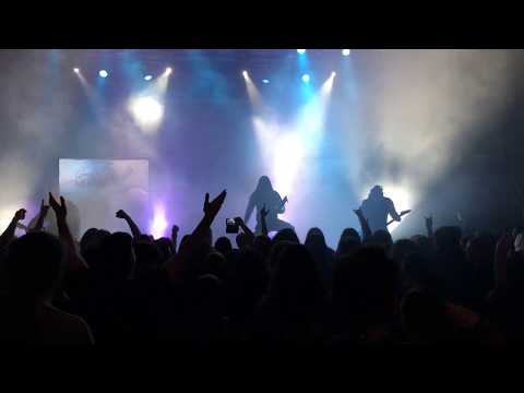 Septicflesh Potrait of a Headless man - live intro Thessaloniki 14 april 2018