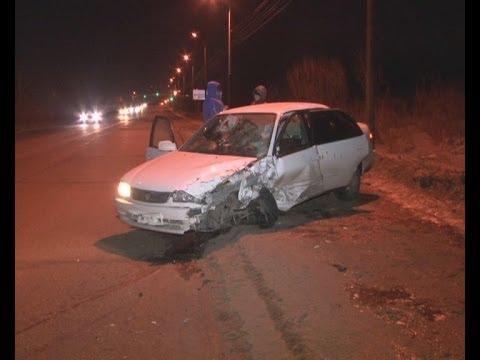 Попал в больницу, разбив две машины.MestoproTV