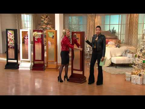 Gold & Silver Safekeeper Double-Sided Jewelry Armoire by Lori Greiner with Gabrielle Kerr