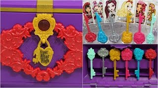 Spellbinding Secret Chest / Sekretna Skrzynia - Ever After High - BJH43 - Recenzja
