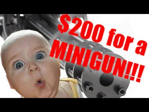 $200 for a Classic Army M134 Minigun? Mystery Box time!