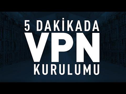 5 Dakikada Kendi VPN Sunucunuzu Kurun