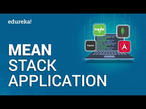 MEAN Stack Application Tutorial | Build a MEAN Application From Scratch | MEAN Stack App | Edureka