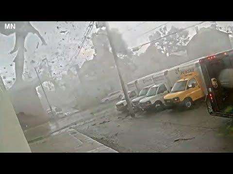New Marshalltown Tornado Footage - Iowa, Marshall July 19, 2018