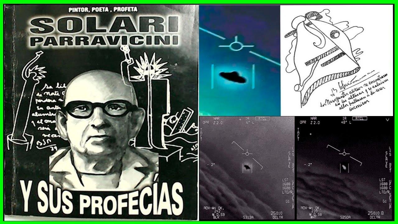Profetizó la llegada ALIENIGENA hace 100 años [ reedicion 2021 Benjamín Solari Parravicini ]