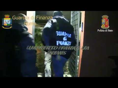 MAXI OPERAZIONE ANTIDROGA DELLA POLIZIA DI STATO E DELLA GUARDIA DI FINANZA TRA ITALIA E AMERICA