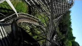 Thunderhead Front Seat on-ride widescreen POV Dollywood