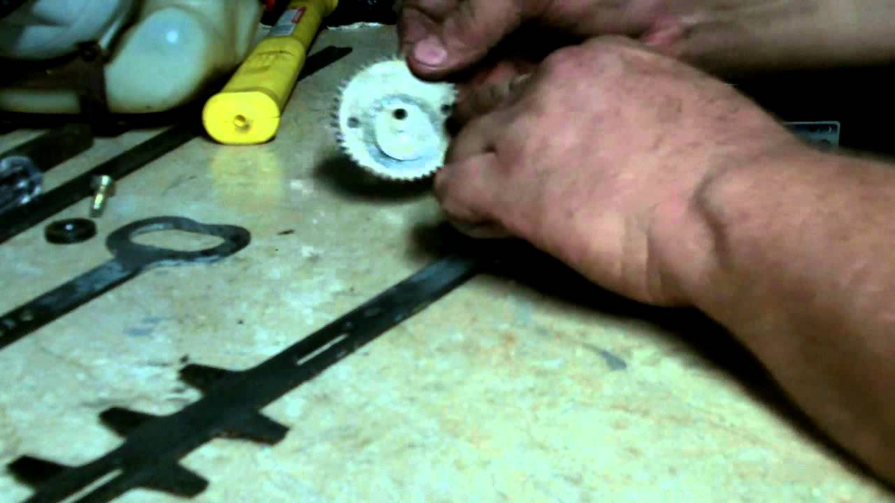 HOW TO TIME THE BLADES ON AN ECHO HC 150 HEDGE TRIMMER - YouTube