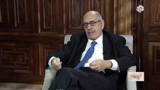 بالفيديو.. البرادعي: عدلي منصور قال لي