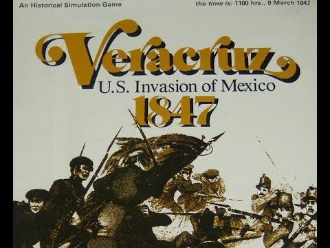 Veracruz by SPI - Throw Back - Game Components and Thoughts