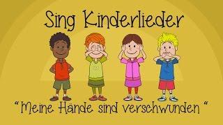 Meine Hände sind verschwunden - Kinderlieder zum Mitsingen | Sing Kinderlieder thumbnail
