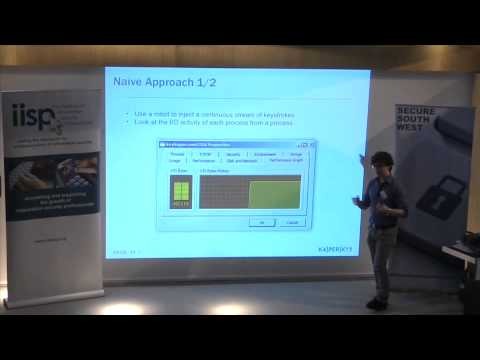 Secure South West 3 - Stefano Ortolani - David and Goliath...