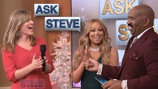 ask steve surprise its mariah carey steve harvey