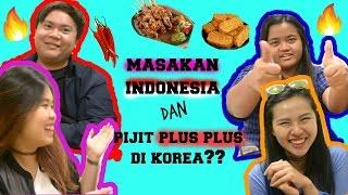 MASAKAN INDONESIA & PIJAT PLUS PLUS DI KOREA?? // INGGRIDFEBRIANI