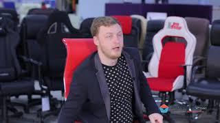 Обзор эксцентричного кресла руководителя Chairman 710 из красной экокожи