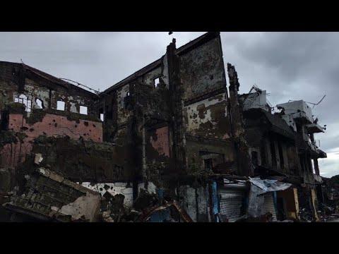 Marawi destroyed by Philippines' longest urban war