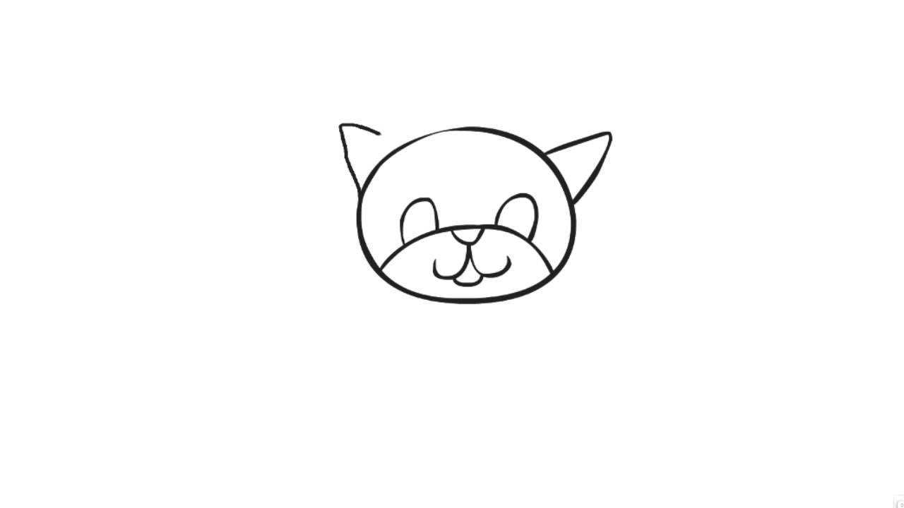 Sehr Apprendre à dessiner un chat - YouTube RY39