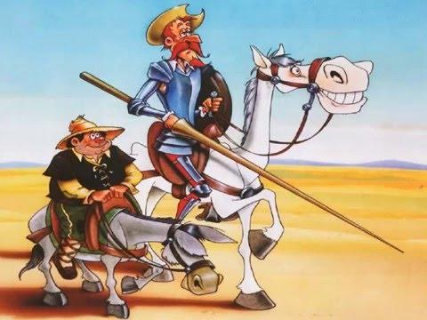 Canción con pictogramas Don Quijote