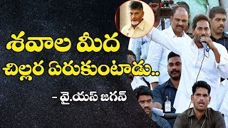 YS Jagan Controversial Comments on Chandrababu Naidu | Praja Sankalpa Yatra | Dot News