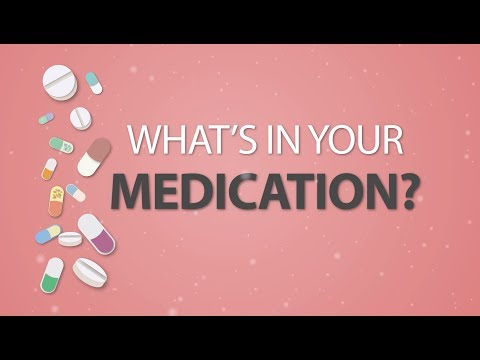 MIT/HMS - A Closer Look At Inactive Ingredients In Our Medications