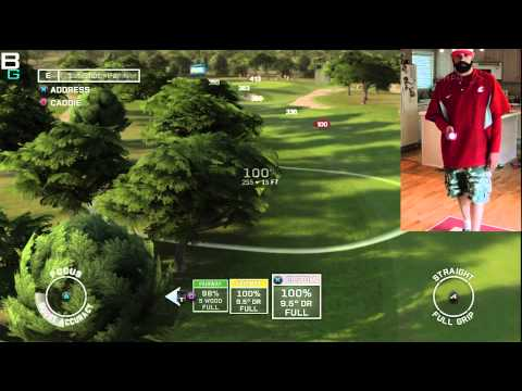 PS3 Move Tiger Woods 12 Golf Demo Review Impressions