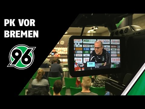PK vor Bremen   SV Werder Bremen - Hannover 96
